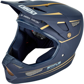 100% Status DH/BMX Kask rowerowy, navy